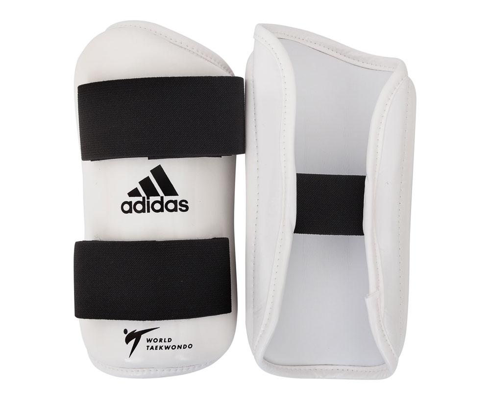 Защита предплечья для тхэквондо Adidas WT Forearm Protector белая S