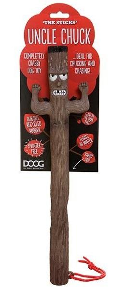 Апорт для собак Doog Uncle Chuck, коричневый