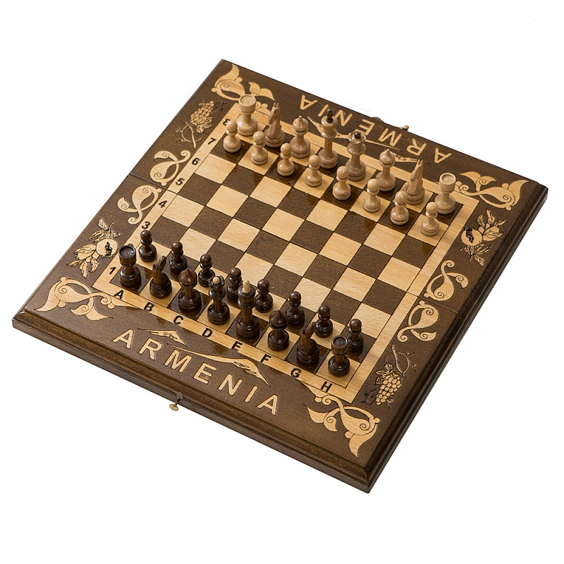 Шахматы резные Haleyan Деметра 30