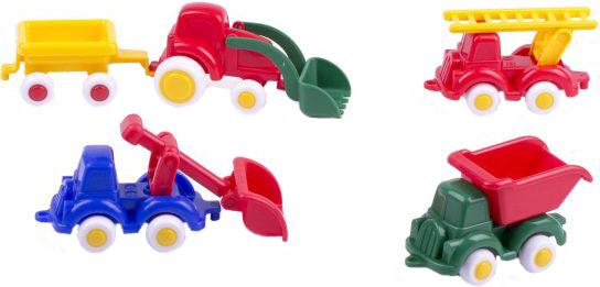 Купить Набор пластиковых машинок Viking toys Мини спецтехника 7см, Наборы игрушечного транспорта