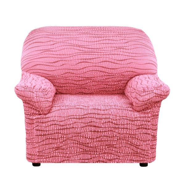Чехол на кресло Еврочехол Тела Ридже бордовый