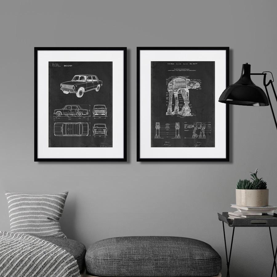 Картина Картины в Квартиру Обед На Небоскрёбе (35х35 см) 87164682 Обед на небоскрёбе, 1932г купить во Vseblaga.ru
