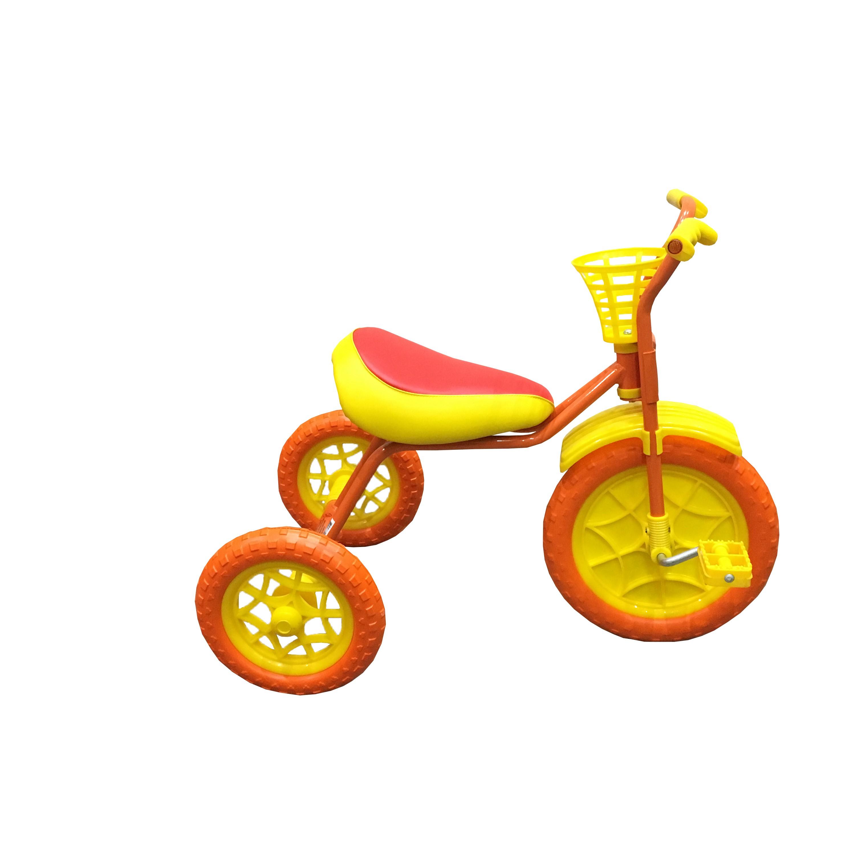 Купить Трехколесный велосипед Woodlines Зубренок Оранжевый, Детские трехколесные велосипеды