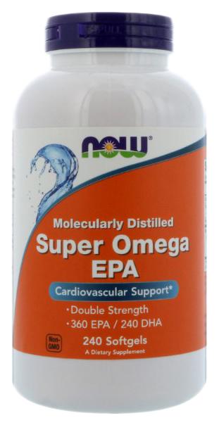 Купить Omega-3 NOW Super Omega EPA 1200 мг 240 капсул