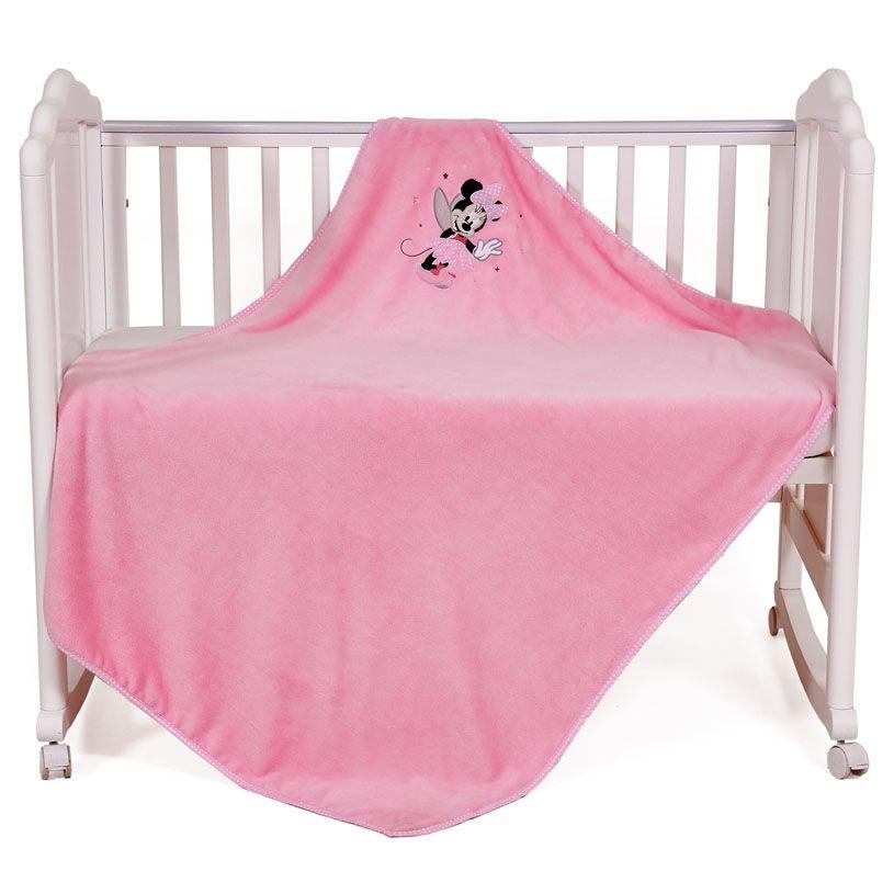 POLINI Плед детский Polini kids Disney baby Минни Маус, розовый