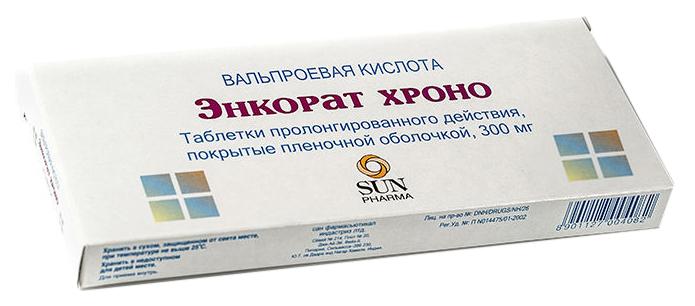 Энкорат хроно таблетки 300 мг 30 шт.