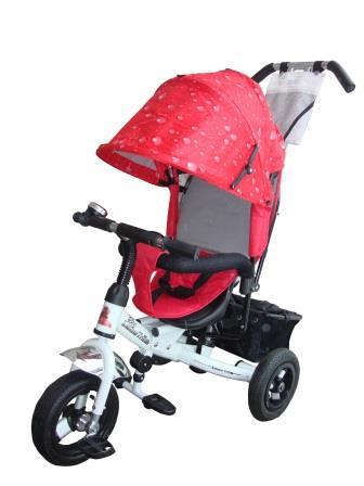 Велосипед детский Lexus Trike MS-0526 Next Pro Air бело-красный