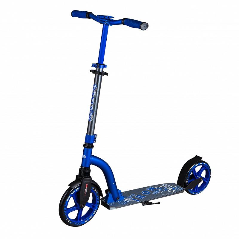 Самокат Funny Scoo IRON PRO MS-102 синий
