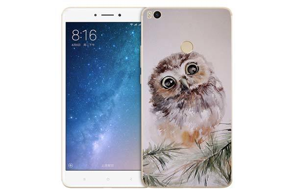 Чехол Gosso Cases для Xiaomi Mi MAX 2 «Совенок»