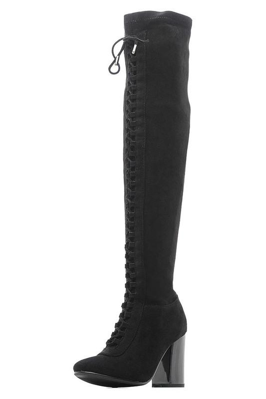 Женские сапоги Vitacci 184671 черные 35