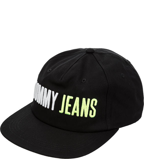 Бейсболка унисекс Tommy Jeans AU0AU00367 002 black,