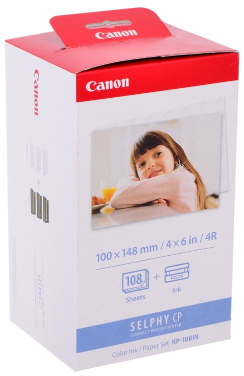 Бумага для компактного принтера Canon KP-108IN