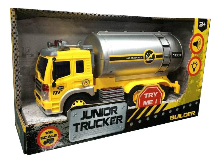 Купить Junior Trucker. Автоцистерна, Нефтевоз 1:16 33022, Dave Toys, Строительная техника