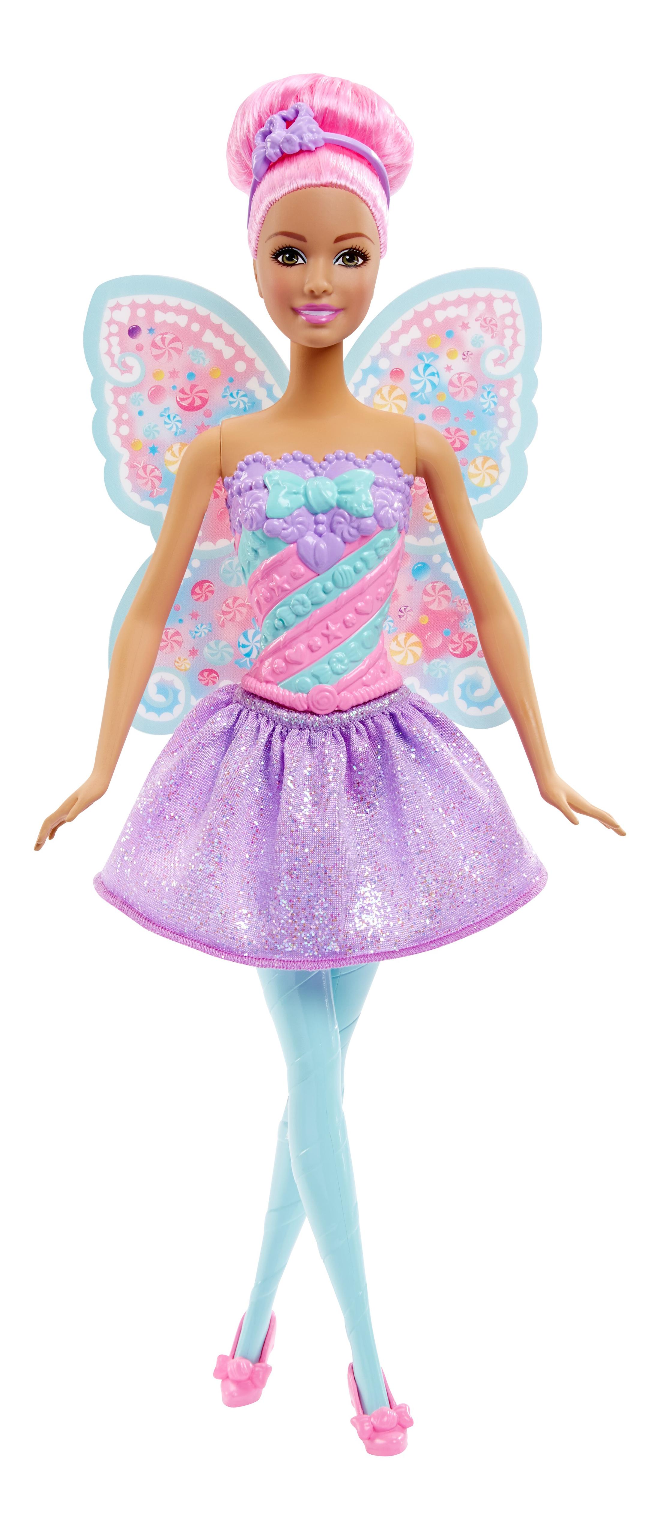 Купить Candy Kingdom Fairy Doll, Кукла Barbie Конфетная фея DHM50 DHM51, Куклы Barbie
