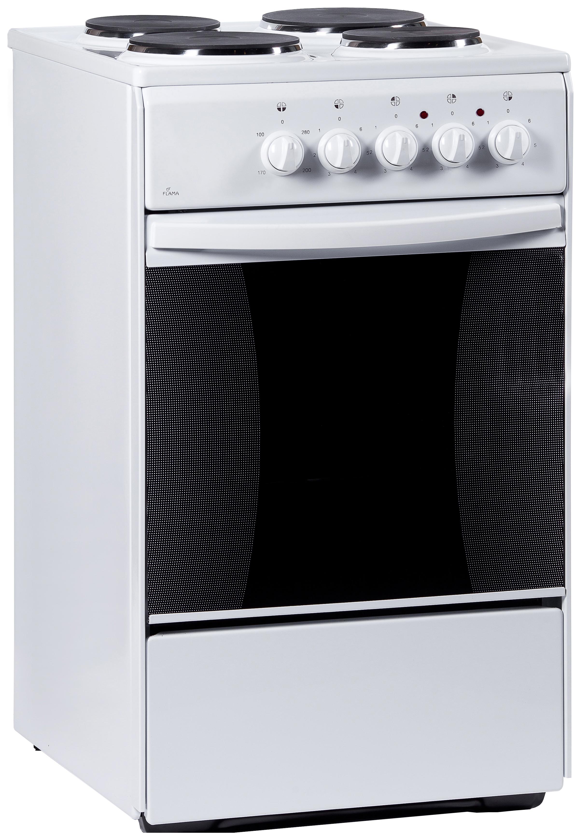 Электрическая плита Flama AE 1403 W White