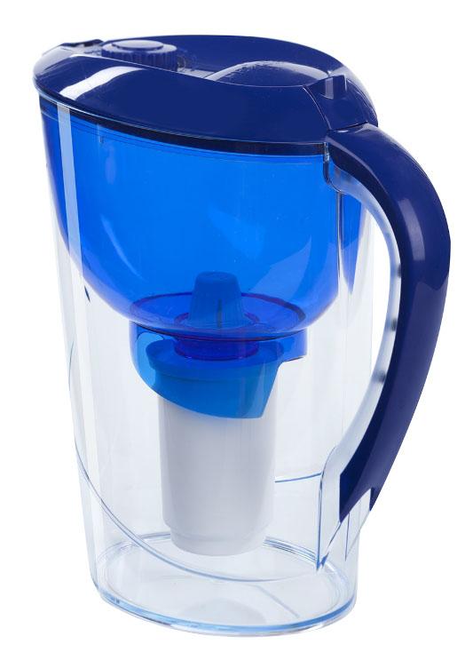 Фильтр-кувшин ГЕЙЗЕР Аквариус для жесткой воды синий