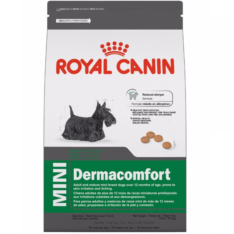 Сухой корм для собак ROYAL CANIN Dermacomfort Mini Adult, мясо, 0.8кг