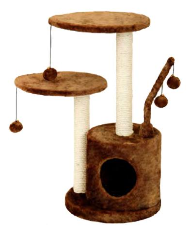 Комплекс для кошек FAUNA INTERNATIONAL STUDIO,светло коричневый