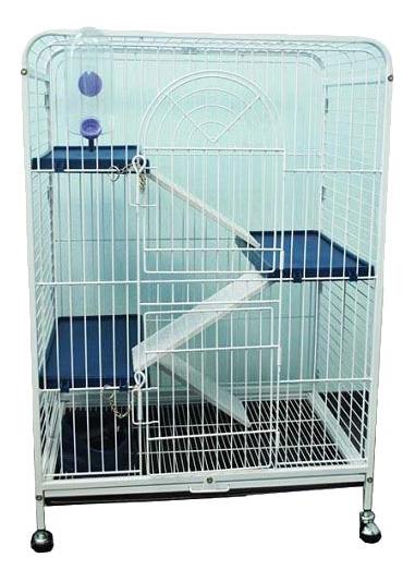Клетка для шиншилл KREDO 93х44х64см выдвижной лоток