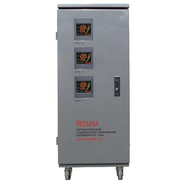 Стабилизатор Ресанта АСН-30000/3-Ц