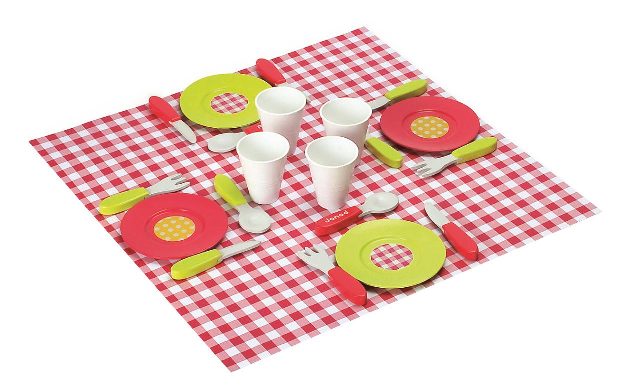 Набор посуды Janod Пикник