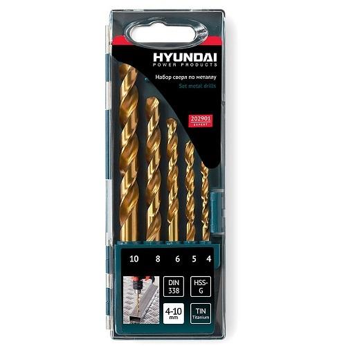 Набор сверл по металлу Hyundai 202901