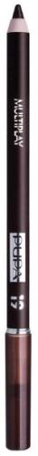 Купить Карандаш для век с аппликатором PUPA Multiplay Eye Pencil, тон №19 Dark Earth (244019)