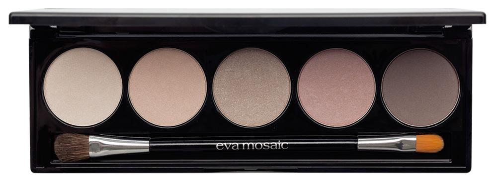 Тени для век EVA Mosaic Nude Look