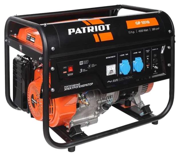 Бензиновый генератор Patriot GP 5510 474101555