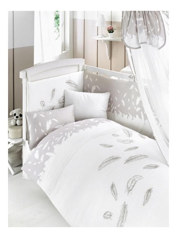 Комплект детского постельного белья Bebe Luvicci Fluffy 6 предмета
