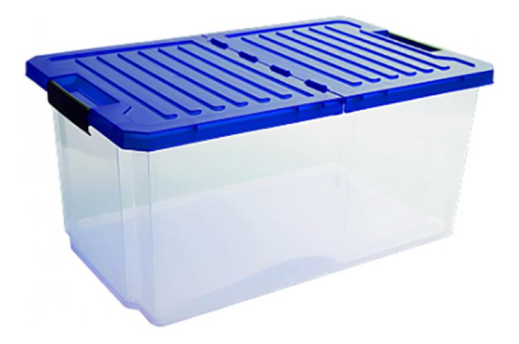 Купить Ящик для хранения игрушек Plastic Republic Unibox 12 л синий, Ящики для хранения игрушек