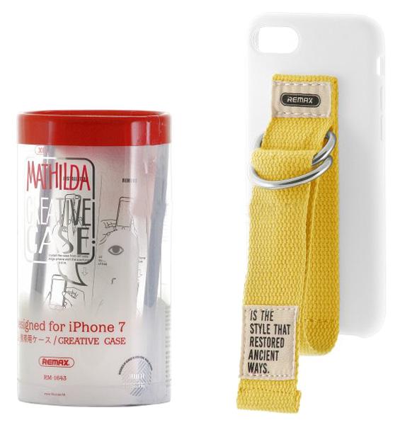 Чехол-накладка Remax Mathilda для Apple iPhone 7 White