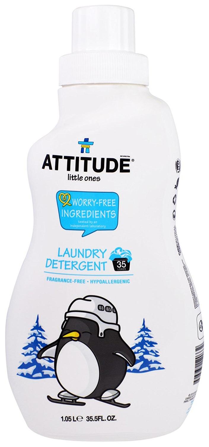 Гель для стирки Attitude baby универсальный для детских вещей 1.05 л