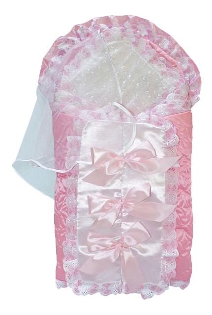 Конверт-мешок для детской коляски Золотой Гусь Соня-2 9 предметов розовый
