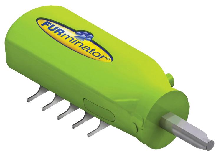 Колтунорезка для собак FURminator® вертикальный зеленый