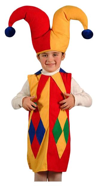 Купить 987, Карнавальный костюм Бока Клоун, цв. разноцветный р.122,