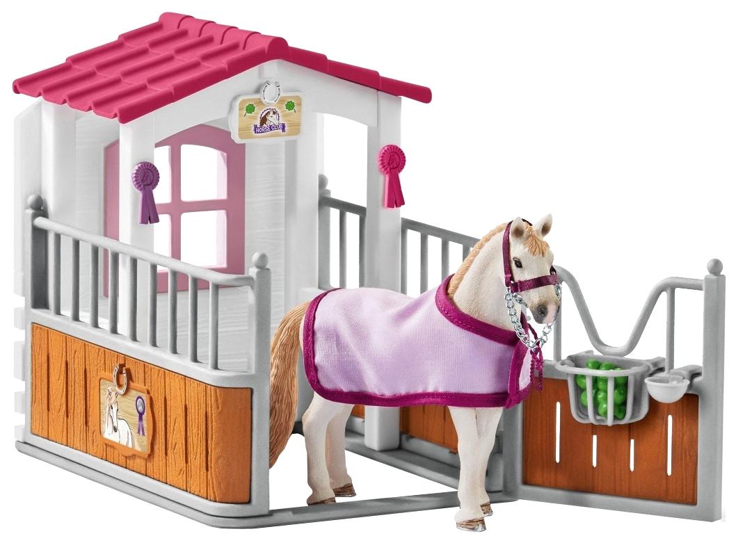 Игровой набор Schleich Horse club Стойло с лузитанской кобылой 42368