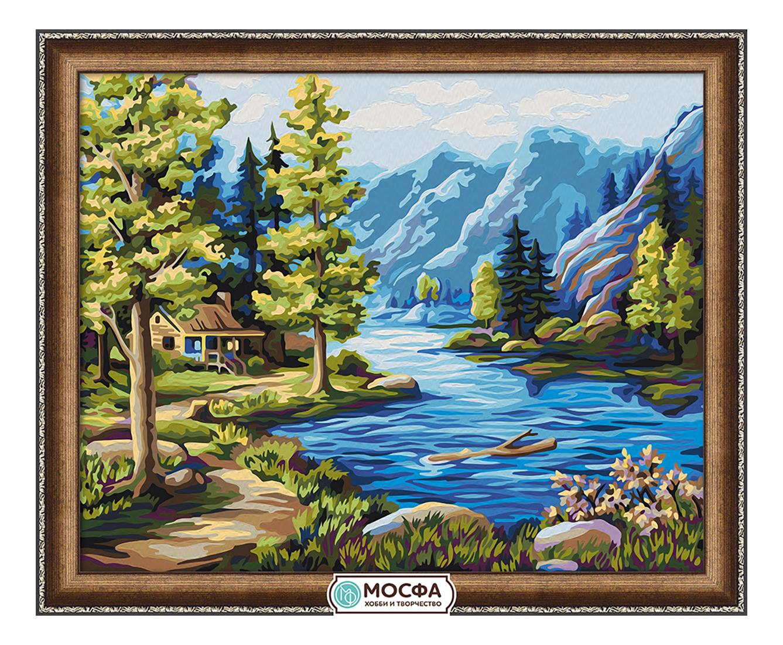 Раскраска по номерам Мосфа 7c-0213