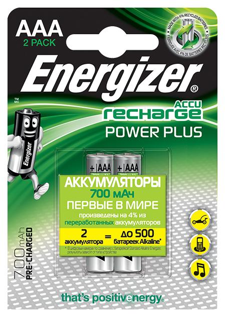 Аккумуляторная батарея Energizer POWER PLUS 2 шт