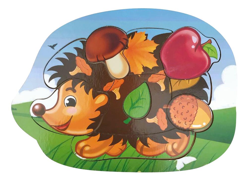 картинка Рамка-вкладыш Woodland Ёжик 11103 от магазина Bebikam.ru