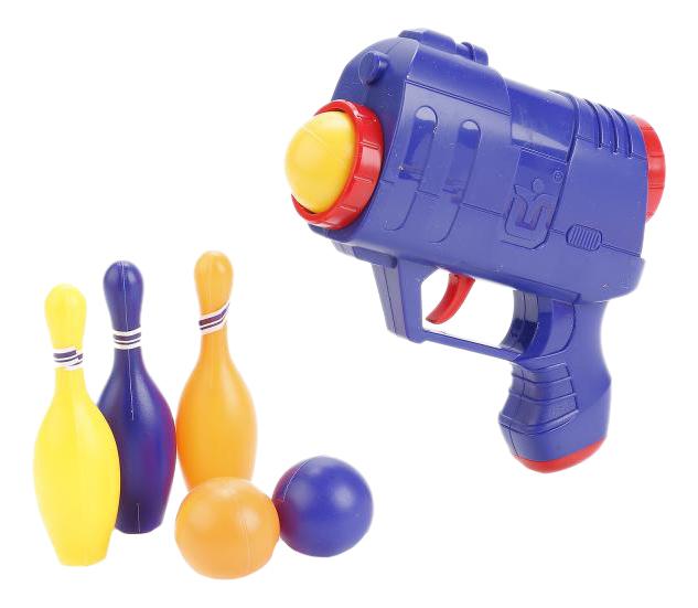 Бластер Играем Вместе с шарами и кеглями