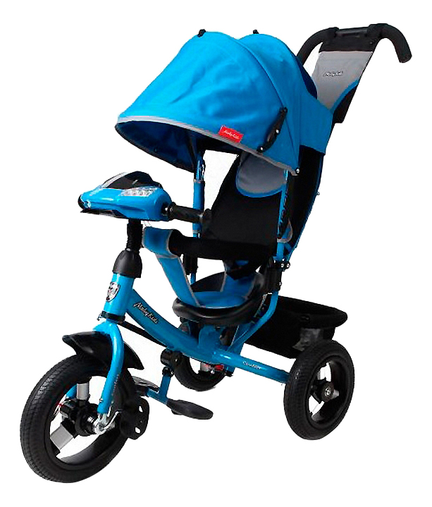 Велосипед Moby Kids Comfort Air Car синий