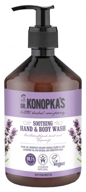 Жидкое мыло Dr.Konopka's Успокаивающее 450 мл фото