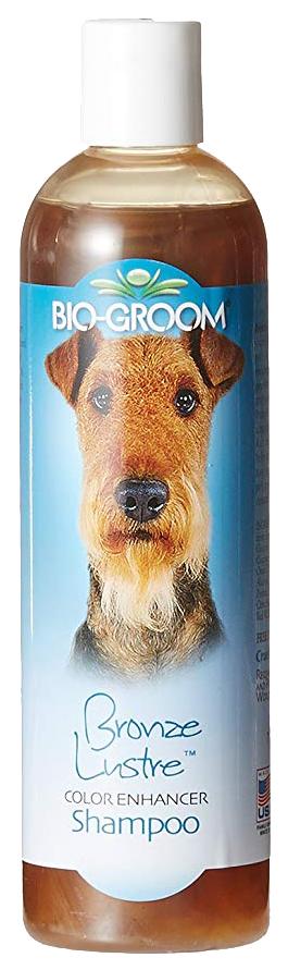 Шампунь для кошек и собак Bio-Groom Bronze Lustre бронзовый для коричневой шерсти, 355 мл