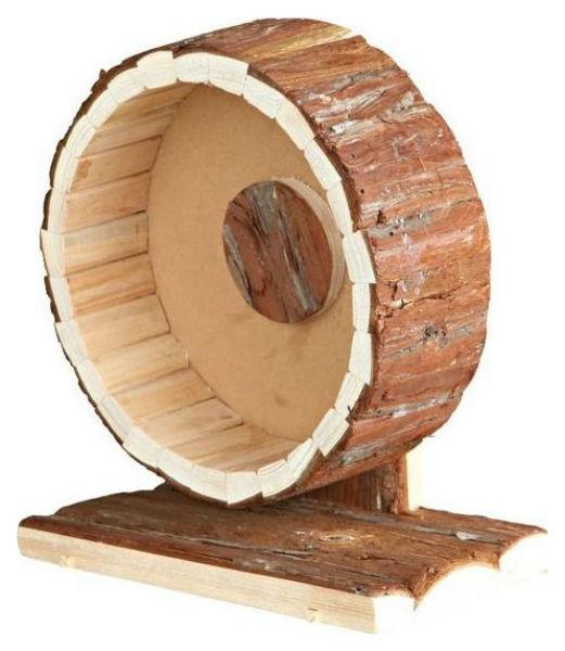 Беговое колесо для грызунов TRIXIE дерево,