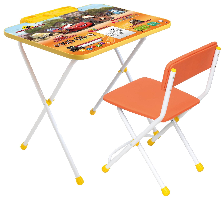 Комплект детской складной мебели Ника Disney тачки Д2Т