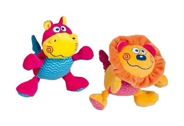 Купить Мягкая игрушка Bebe Confort Смеющийся Бегемотик/Лев, Интерактивные мягкие игрушки