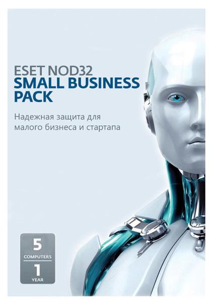 Антивирус ESET NOD32 Small Business Pack для 5 пользователей NOD32-SBP-NS-CARD-1-5 фото