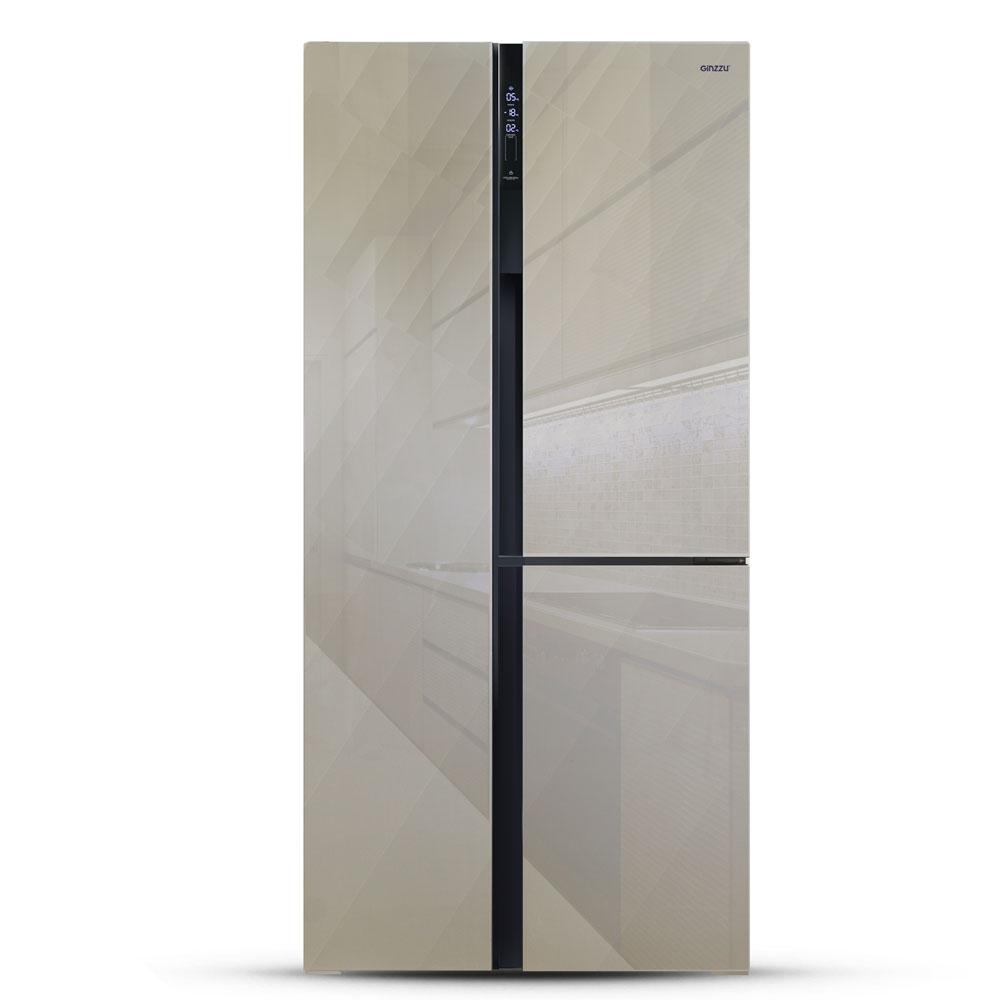 Холодильник Side by Side Ginzzu NFK