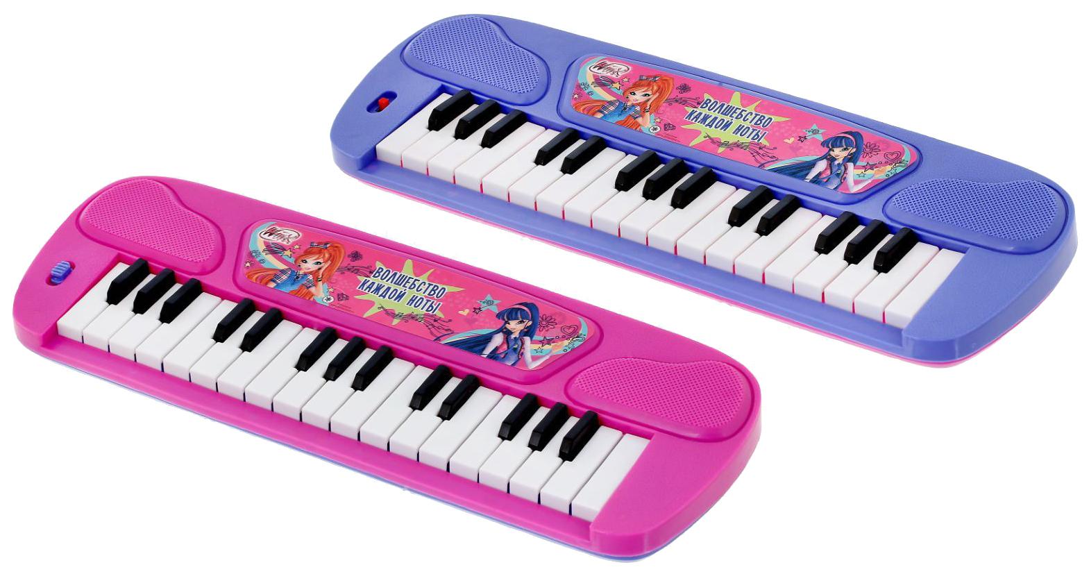 Купить Синтезатор Клуб Винкс - Музыкальные уроки Sima-Land, Детские музыкальные инструменты